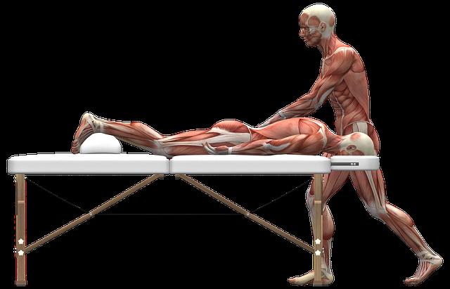 علاج تشنج العضلات بالمساج