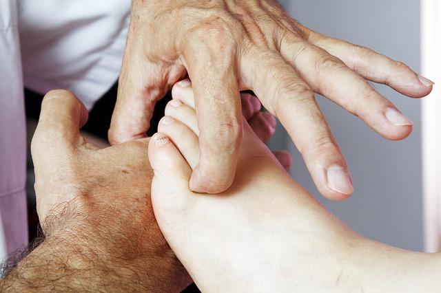 خريطة القدم للامراض من فوائد مساج القدمين
